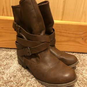 Brown Maurices Boots